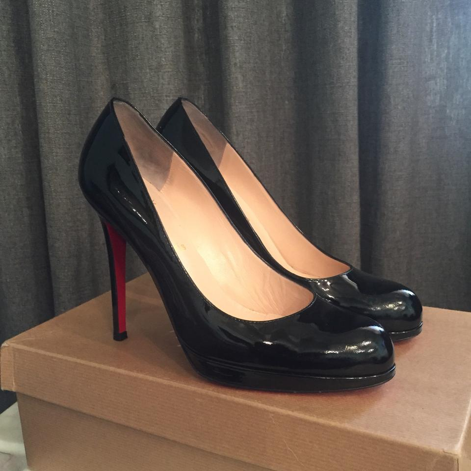 new styles 98279 dd210 Christian Louboutin Black New Simple Pump 120 Platforms Size EU 39.5  (Approx. US 9.5) Regular (M, B) 53% off retail