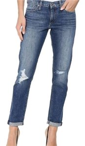 Lucky Brand Boyfriend Cut Jeans-Distressed