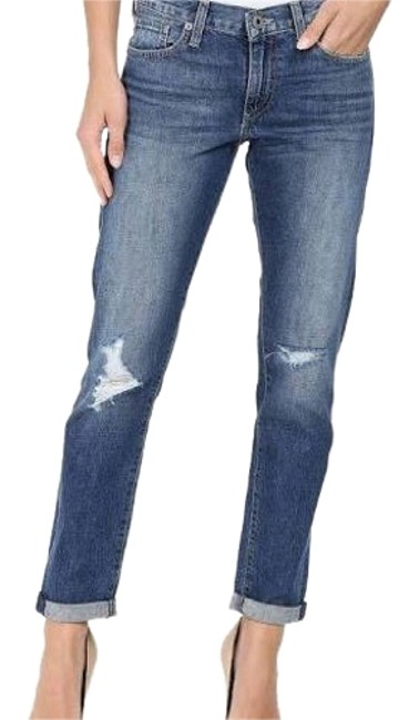 Preload https://img-static.tradesy.com/item/22598863/lucky-brand-blue-distressed-sienna-slim-boyfriend-cut-jeans-size-29-6-m-0-1-650-650.jpg