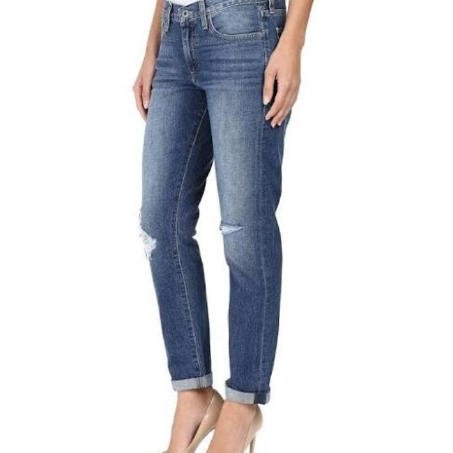 Lucky Brand Boyfriend Cut Jeans-Distressed Image 1