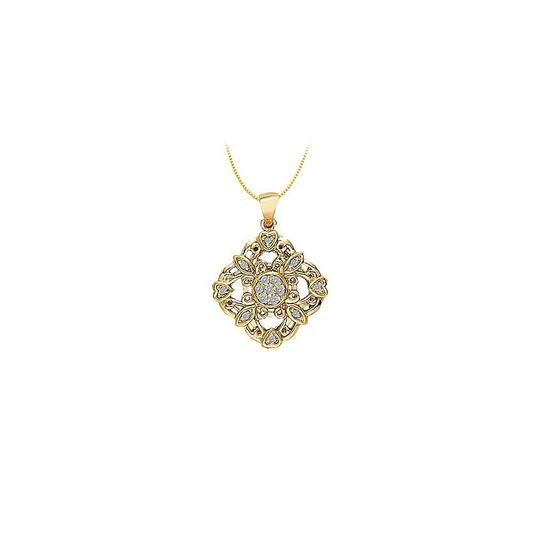 Preload https://img-static.tradesy.com/item/22598949/white-yellow-cubic-zirconia-square-shaped-pendant-with-little-hearts-in-gold-vermei-necklace-0-0-540-540.jpg