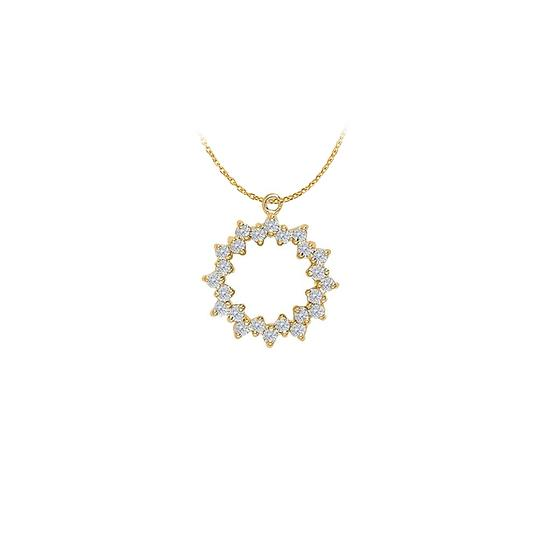 Preload https://img-static.tradesy.com/item/22598996/white-yellow-april-birthstone-gift-cubic-zirconia-circle-pendant-in-gold-ver-necklace-0-0-540-540.jpg