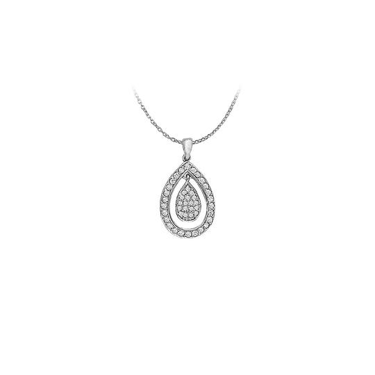 Preload https://img-static.tradesy.com/item/22599031/white-silver-cubic-zirconia-teardrop-pendant-in-sterling-033-ct-tgwperfect-necklace-0-0-540-540.jpg