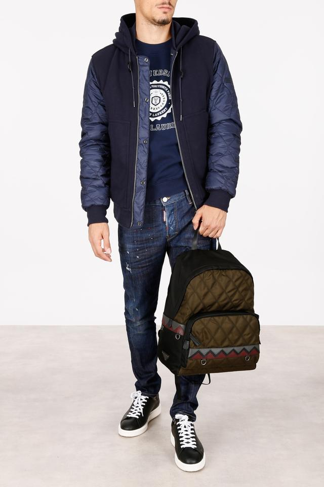 d652e55a306c Burberry Blue Reversible Demford Quilted Cotton Hoodie Jacket Size 8 (M) -  Tradesy
