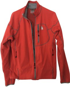 Eddie Bauer Men's Softshell Jkt First Ascent Size S Smoke-free/Pet-free Brick red Jacket