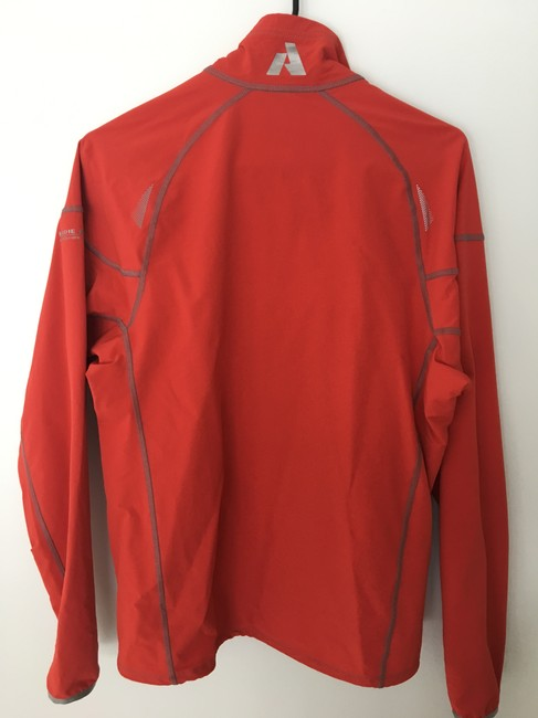 Eddie Bauer Men's Softshell Jkt First Ascent Size S Smoke-free/Pet-free Brick red Jacket Image 1