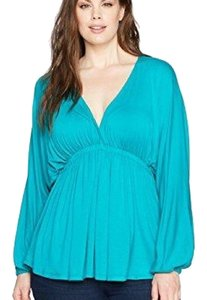 Melissa Mccarthy Seven7 Top Turquoise