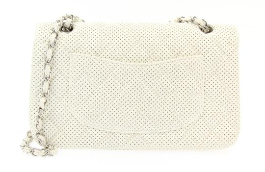Chanel Classic Flap Medium Perforated Leather Cross Body Bag Image 1