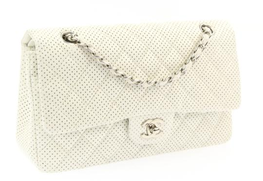 Chanel Classic Flap Medium Perforated Leather Cross Body Bag Image 2