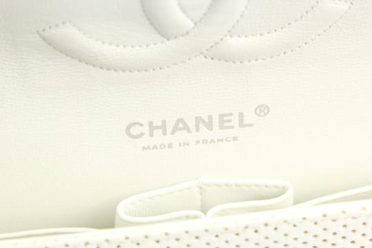 Chanel Classic Flap Medium Perforated Leather Cross Body Bag Image 4
