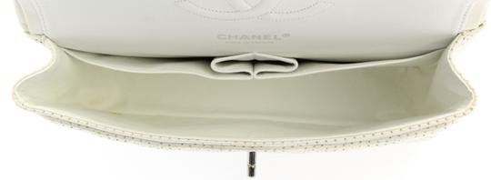 Chanel Classic Flap Medium Perforated Leather Cross Body Bag Image 5