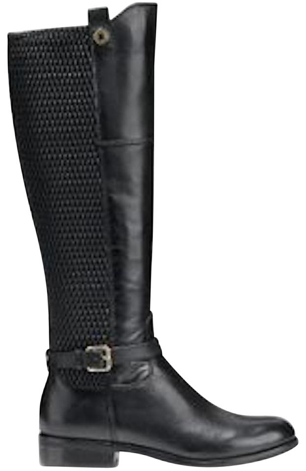 Cole Haan Black Galina Leather Boots