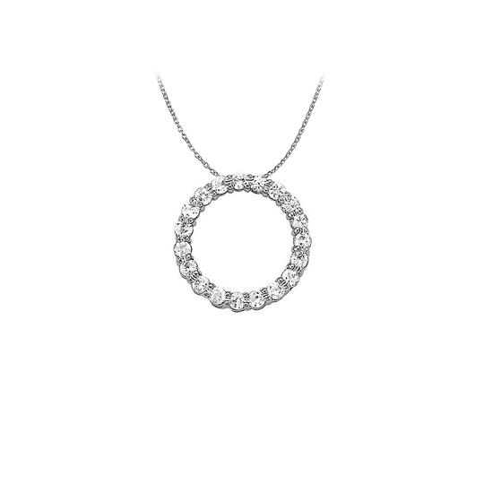 Preload https://img-static.tradesy.com/item/22599386/white-silver-cubic-zirconia-circle-pendant-in-925-sterling-1-necklace-0-0-540-540.jpg