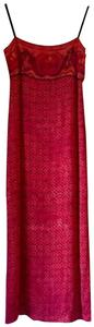 Red Maxi Dress by Laundry by Shelli Segal Sundress 6p