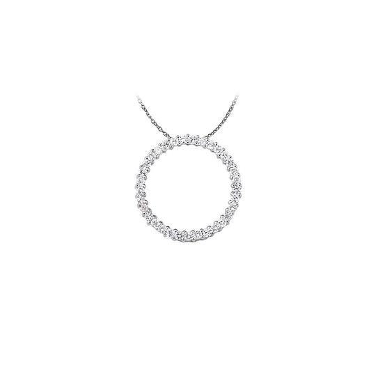 Preload https://img-static.tradesy.com/item/22599446/white-silver-fabulous-cubic-zirconia-circle-pendant-925-sterling-wit-necklace-0-0-540-540.jpg