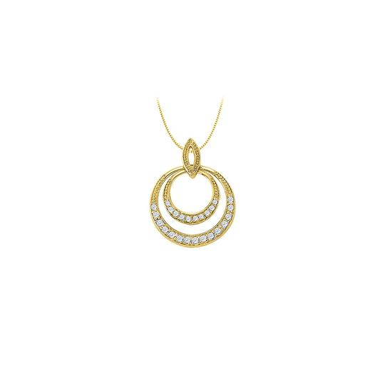 Preload https://img-static.tradesy.com/item/22599788/white-yellow-cz-double-circle-pendant-in-gold-vermeil-over-sterling-silver-0-necklace-0-0-540-540.jpg