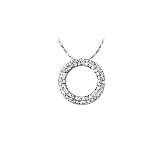 Preload https://img-static.tradesy.com/item/22599789/white-silver-cool-gift-cubic-zirconia-double-circle-pendant-in-sterling-with-necklace-0-1-540-540.jpg