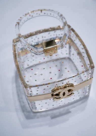 Chanel Rare Limited Edition Transparent Clutch