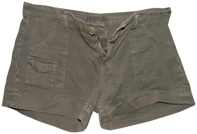 J Brand Olive Green Cotton Cargo Shorts Size 8 (M, 29, 30) J Brand Olive Green Cotton Cargo Shorts Size 8 (M, 29, 30) Image 1