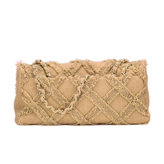 Chanel Tweed Rare Limited Edition Flap Shoulder Bag Image 1