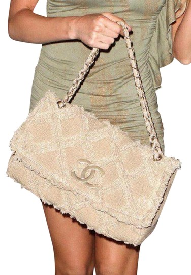 Chanel Tweed Rare Limited Edition Flap Shoulder Bag