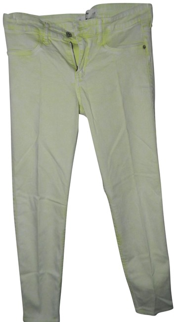 Preload https://img-static.tradesy.com/item/22600113/abercrombie-and-fitch-lime-acid-cotton-viscose-blend-skinny-jeans-size-30-6-m-0-1-650-650.jpg