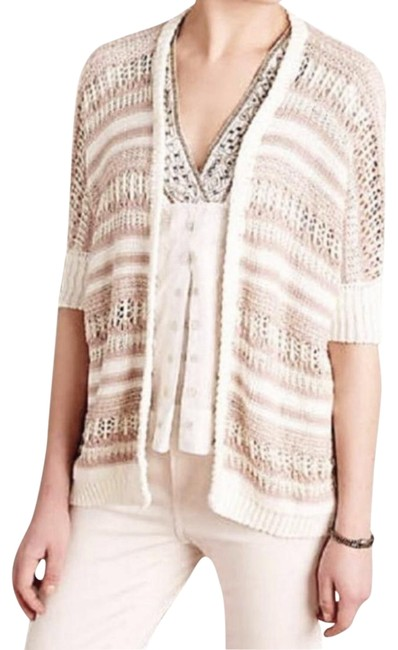 Preload https://img-static.tradesy.com/item/22600122/anthropologie-ivory-metallic-sparkle-cocoon-cardigan-size-4-s-0-6-650-650.jpg