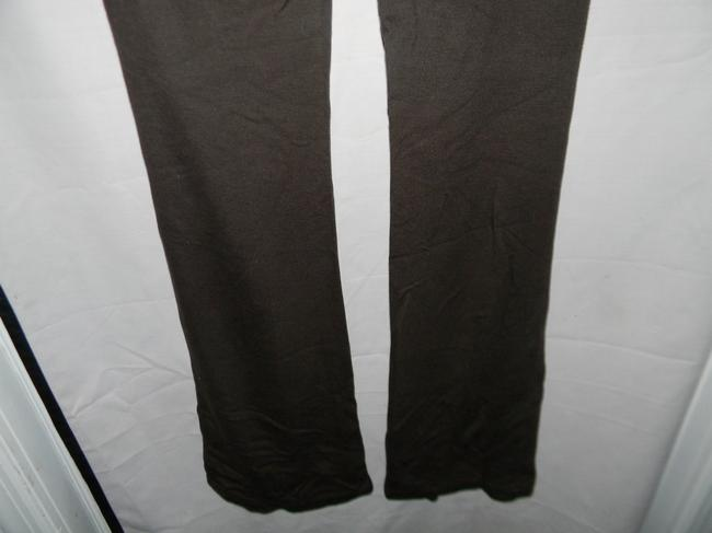 Donna Karan Boot Cut Pants Brown