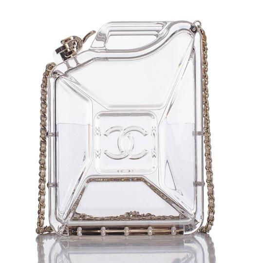 Chanel Resort Dubai Collection Clear GHW Clutch Image 2