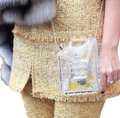 Chanel Resort Dubai Collection Clear GHW Clutch Image 5