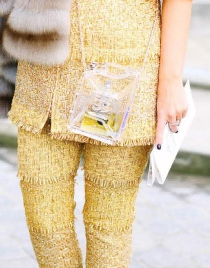 Chanel Resort Dubai Collection Clear GHW Clutch Image 6