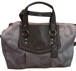 Coach Satchel in beige and brown - item med img
