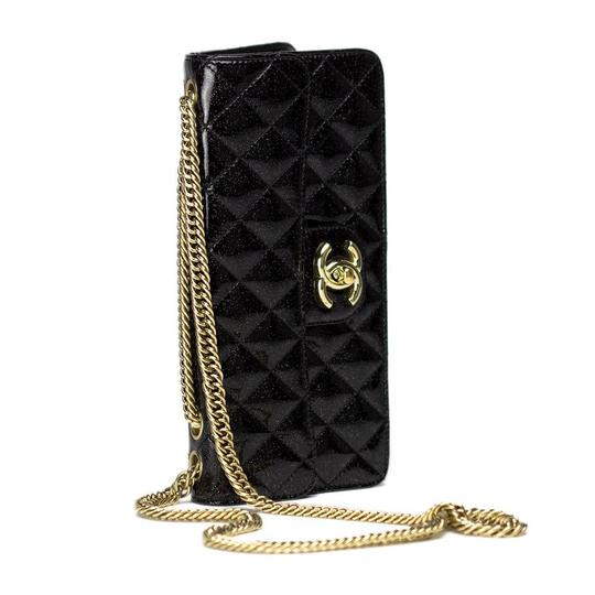 Preload https://img-static.tradesy.com/item/22600320/chanel-classic-hyper-rare-iridescent-sparkle-flap-with-black-patent-leather-shoulder-bag-0-2-540-540.jpg