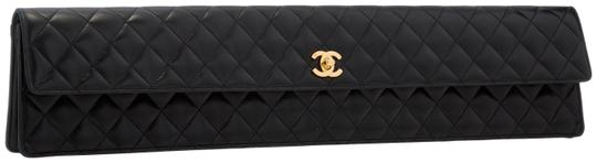 Chanel Shoulder Bags Black Clutch