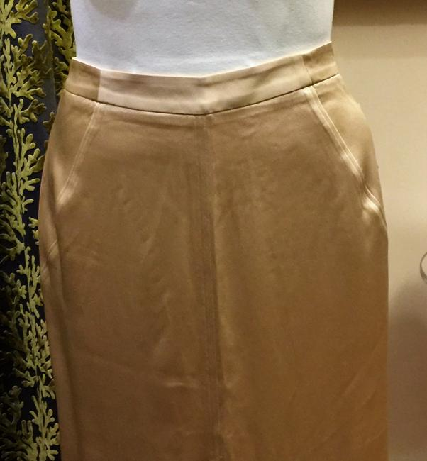 Zac Posen Skirt Light Gold