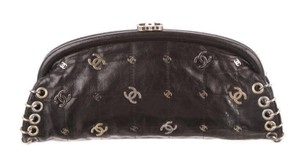 Chanel Rare Lucky Charms Limited Edition Black Clutch