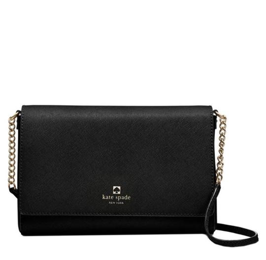 Kate Spade Crossbody Wallet Charlotte Street Satchel in Black