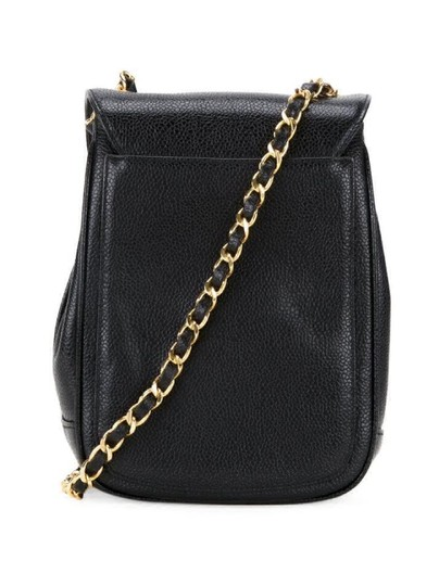 Chanel Rare Vintage Caviar Cross Body Bag