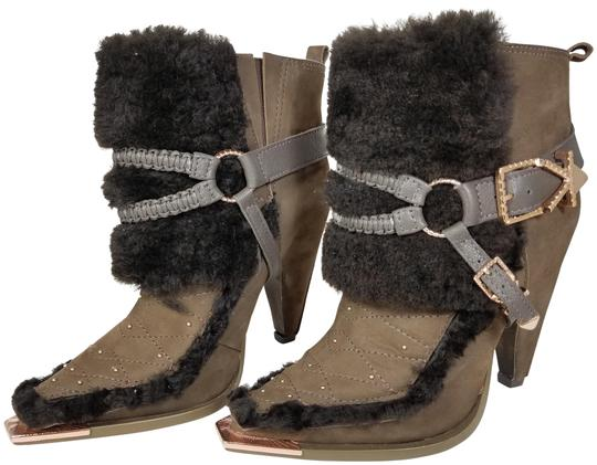 Ivy Kirzhner Brown Truffle New Shiloh Ankle Boots/Booties Size US 6.5 Regular (M, B) Image 0