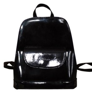 C. Valentino Vinyl Vintage Micro-mini black Beach Bag