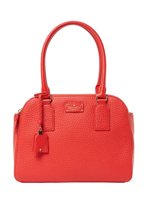 Kate Spade Kendall Court Elissa Tote Cherry Liqueur Leather Shoulder Bag Kate Spade Kendall Court Elissa Tote Cherry Liqueur Leather Shoulder Bag Image 1