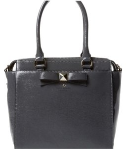 Kate Spade Classic Staple Investment Satchel in Smoky Gray