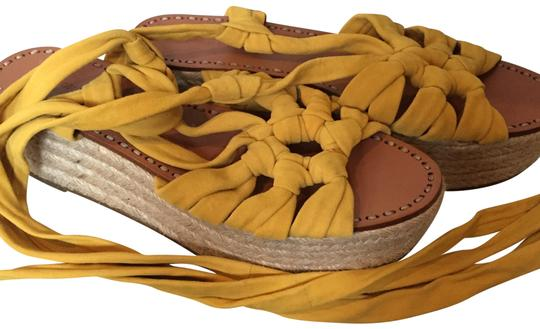 Preload https://img-static.tradesy.com/item/22600879/sigerson-morrison-yellow-ankle-lace-up-sandals-size-us-85-regular-m-b-0-1-540-540.jpg