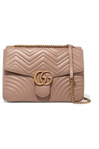 Gucci Marmont Gg Leather Shoulder Bag