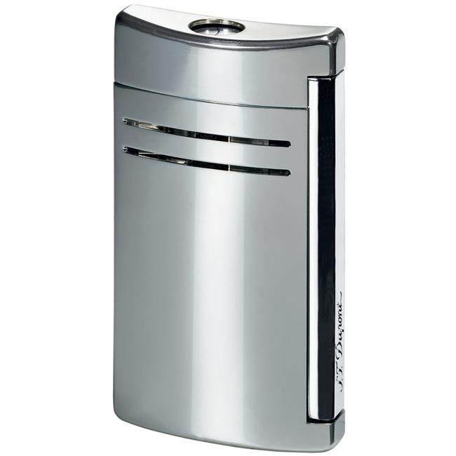 S.T. Dupont Silver Gloss Maxijet Torch Flame Lighter 20107n S.T. Dupont Silver Gloss Maxijet Torch Flame Lighter 20107n Image 1