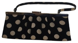 Sasha Black and White Clutch