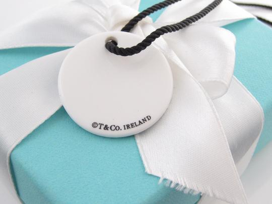 Tiffany & Co. Tiffany Notes White Bone Disc Necklace in Sterling Silver