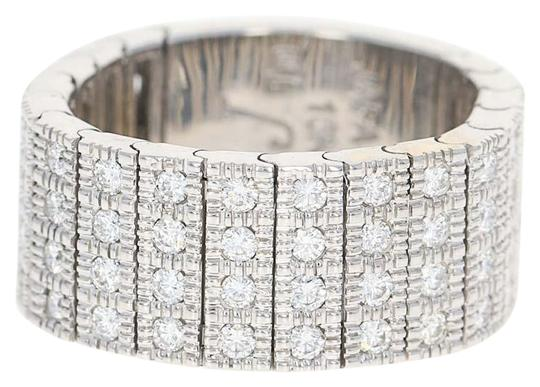 Preload https://img-static.tradesy.com/item/22601182/diamond-band-18k-white-gold-articulates-size-7-12-round-brillia-ring-0-1-540-540.jpg