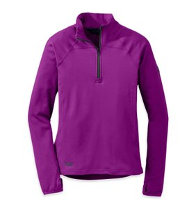 Outdoor Research Outdoor Research Women's Radiant LT Zip Top, Purple, Size XS
