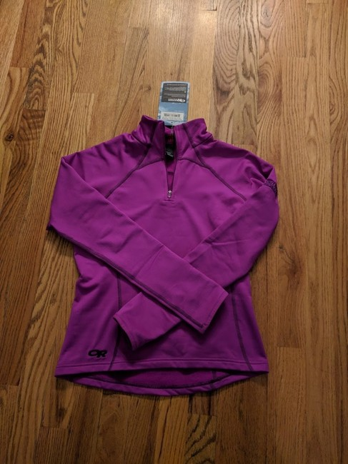 Outdoor Research Outdoor Research Women's Radiant LT Zip Top, Purple, Size XS Image 1